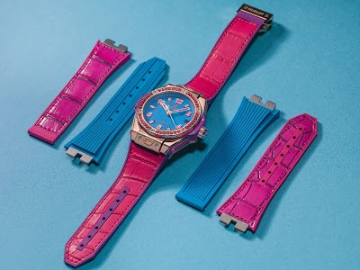 "Best Swiss Ladies' Hublot Big Bang Pop Art ""One-Click"" Copy Watch in Cheap Price"
