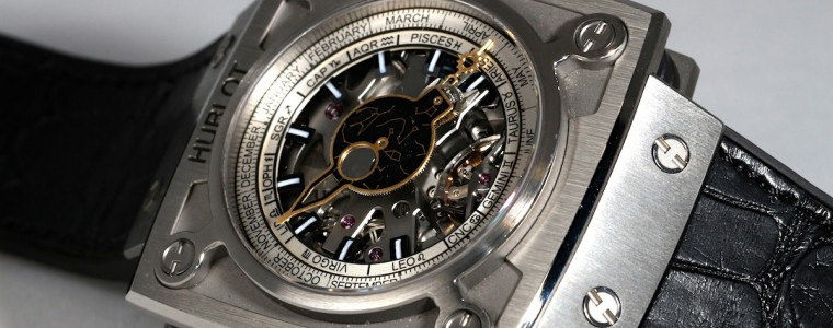 Hand-on The Mens Hublot MP-08 Antikythera Sunmoon Skeleton Dial Watch Replica