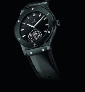 Best Swiss Ceramic Hublot Classic Fusion Tourbillon Night-Out Copy Timepiece