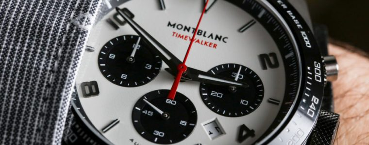 Montblanc Timewalker Manufacture Chronograph Watch Hands-On Replica For Sale