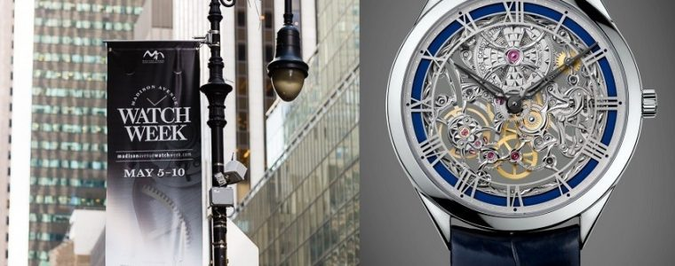 Madison Avenue Watch Week 2014 Map & Guide Replica Suppliers