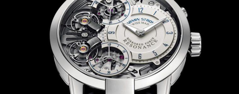 Swiss Movement Replica Watches Armin Strom Mirrored Force Resonance Water Watch In Steel