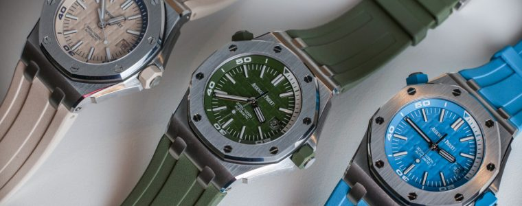 Perfect Clone Online Shopping Audemars Piguet Royal Oak Offshore Divers In New Colors To Get 2018 Hands-On