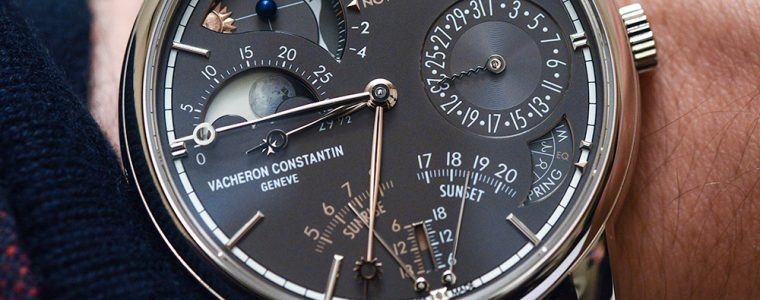 Replica Wholesale Center Vacheron Constantin Les Cabinotiers Celestia Astronomical Grand Complication 3600 Watch Hands-On